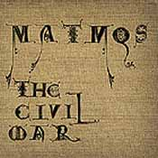 Обложка диска Matmos The Civil War